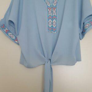 Ibiza blouse blauw