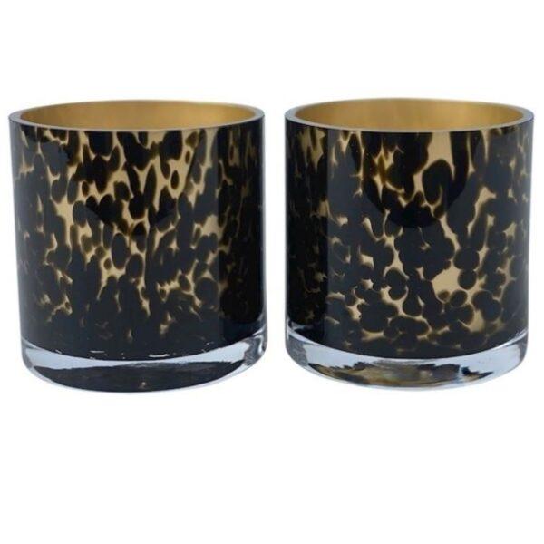 Celtic gold cheetah windlichten