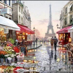 Diamond painting Parijs